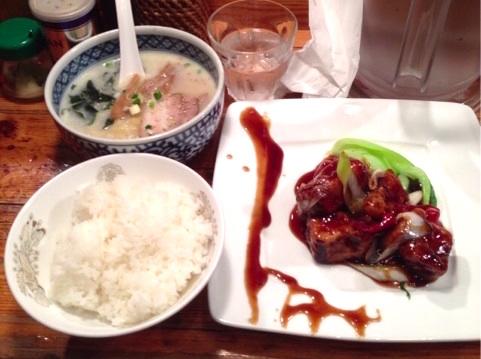 渋谷なかじま酢豚