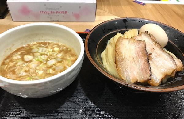 御茶ノ水 睡蓮つけ麺ディナー