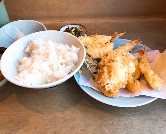 きよし 中野天ぷら定食ランチ