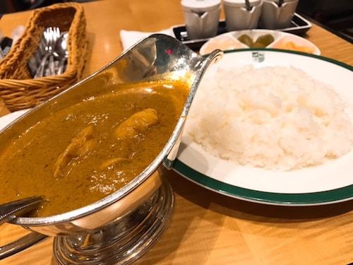 中村屋mannaカレーランチ、新宿