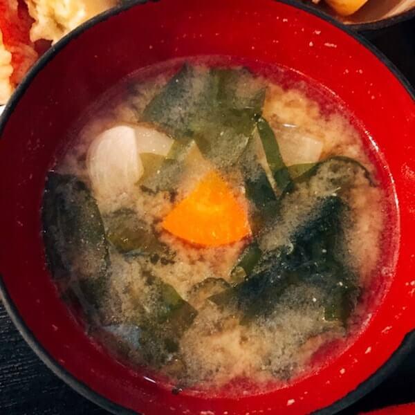 美松(池袋)、味噌汁