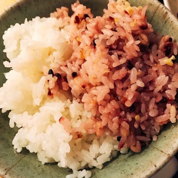 美松(池袋)、雑穀米ハーフ