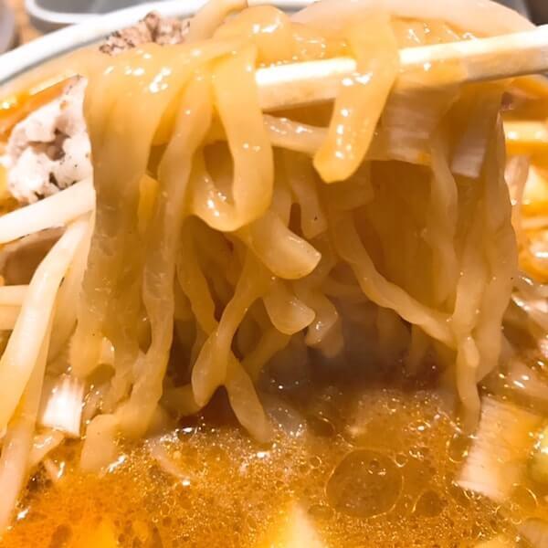 バラそば屋、中野、麺