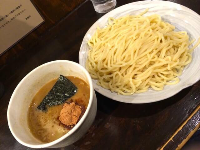 宅麺、風雲児、つけ麺