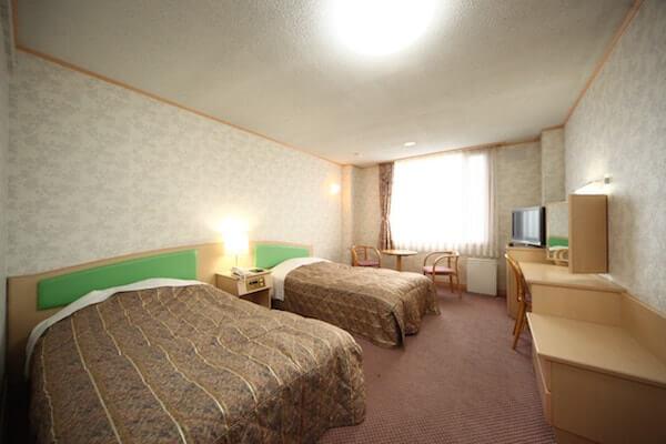 ホテル知床の洋室