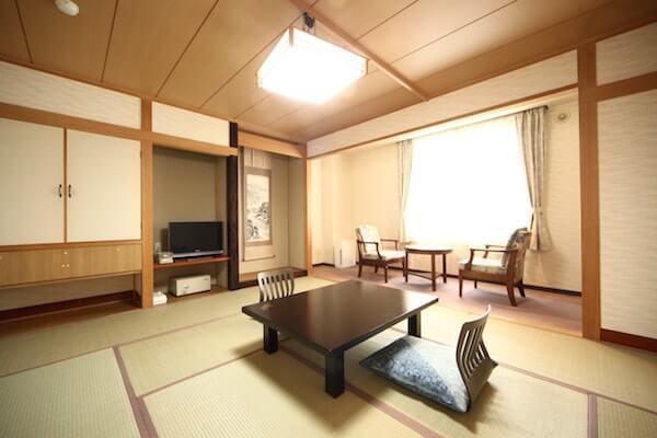 ホテル知床和室