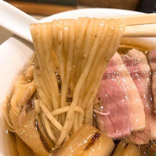 らーめん鴨to葱の麺