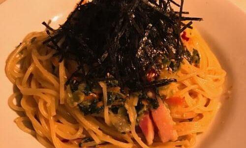 パスタキッチン中野で一人ランチ【おみ漬けっていうのがパスタがすごい!】