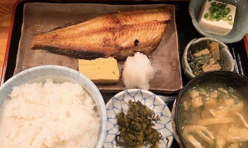 【割烹たなか@秋葉原】まいうー!居酒屋のお魚定食ランチ