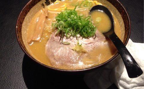 真武咲弥(しんぶさきや) at 渋谷道玄坂 甘めな焦がし味噌ラーメン
