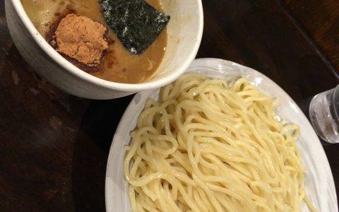 【風雲児 at新宿 (つけめん)】新宿で一番人気の濃厚魚介つけ麺屋
