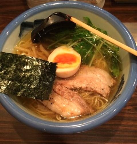阿夫利ゆず塩ラーメン 目黒駅・原宿駅