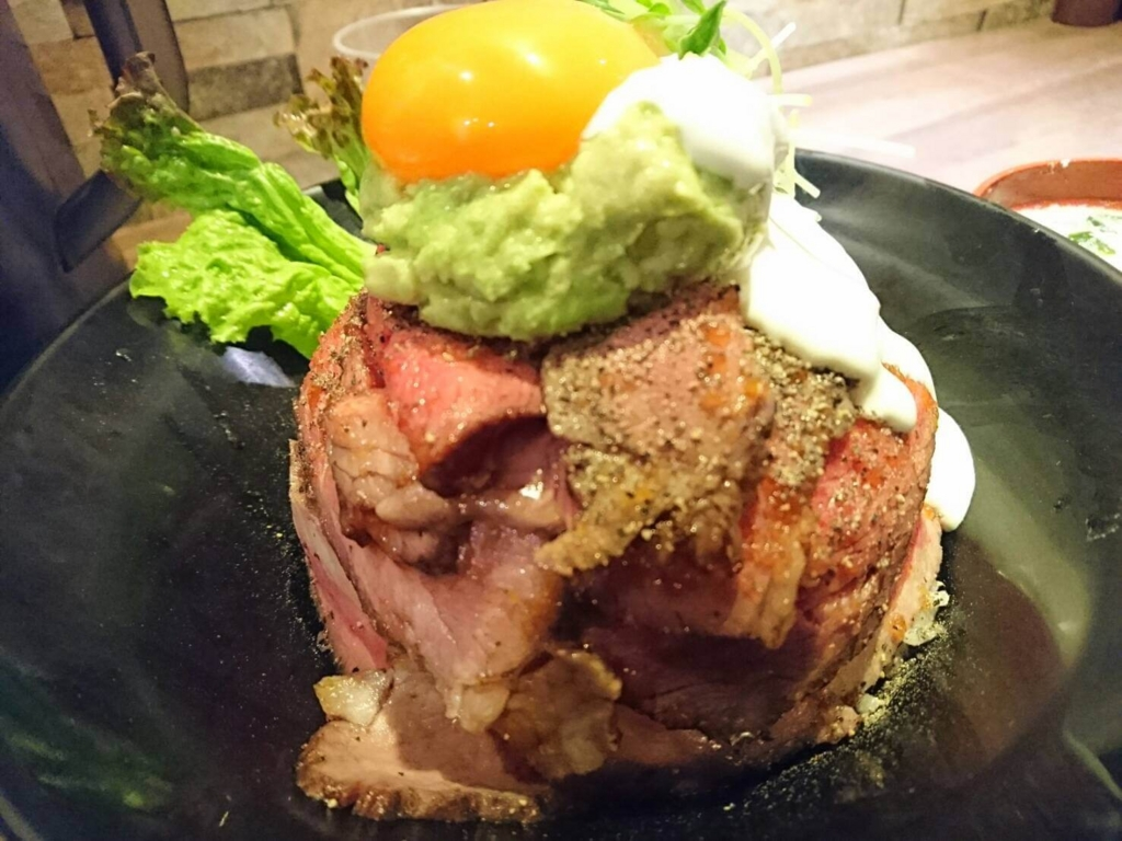 神保町ビーフ ローストビーフ丼