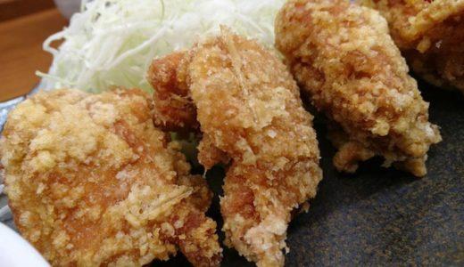 【新橋】鳥の唐揚げをカウンター席でパクパクとひとり夜ご飯「からやま」
