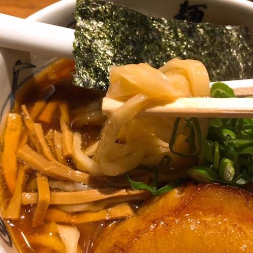 麺屋武蔵本店角煮ラーメン麺