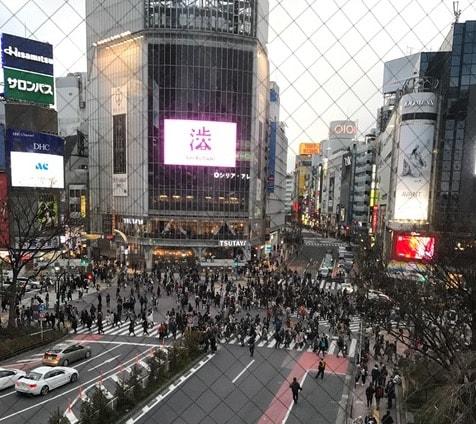 渋谷スクランブル交差