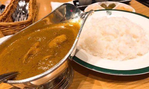 新宿でカレーを食べたい!ド定番の中村屋mamnaにひとりで行ってきた!
