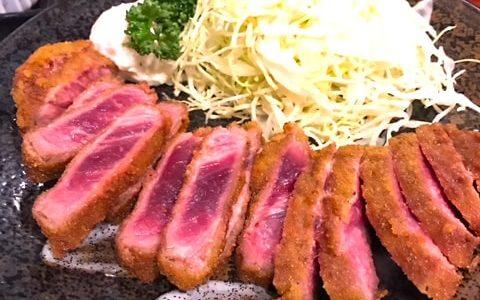 秋葉原「牛かつ壱弐参123(いちにさん)」でやわらかレア肉を食す!