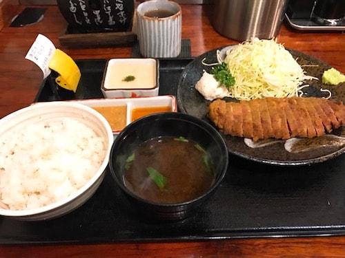 牛かつ壱弐参ディナー