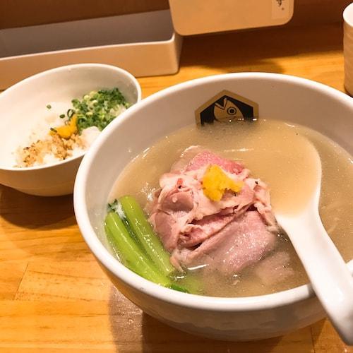 錦糸町真鯛ラーメン麺魚