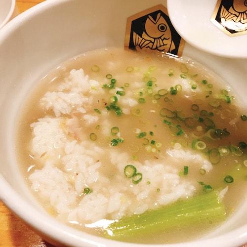 錦糸町麺魚鯛飯雑炊