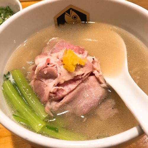 麺魚in錦糸町の真鯛ラーメン